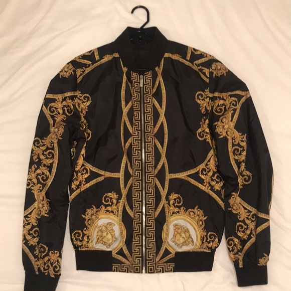 d832753000 Versace Jackets & Coats   Limited Edition Bomber Jacket Reversible ...